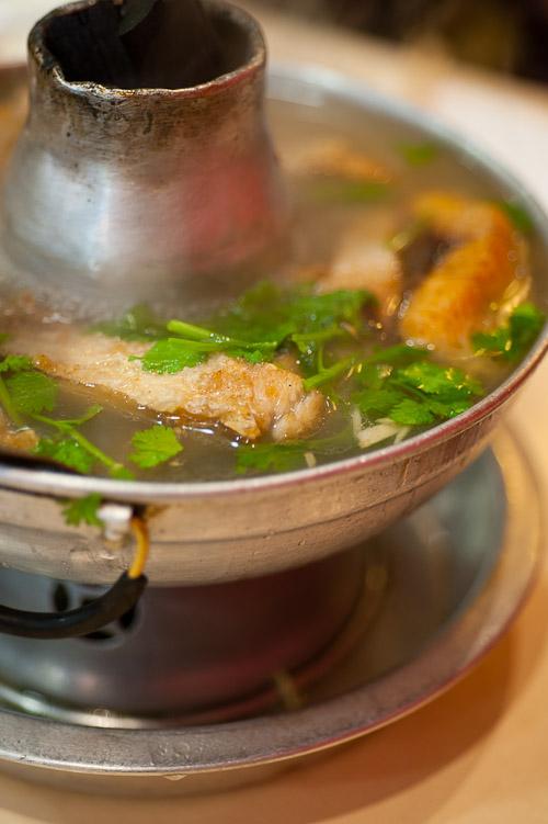 Fish hot pot, Tang Jua Lee, Bangkok