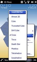 3D Mines Shape