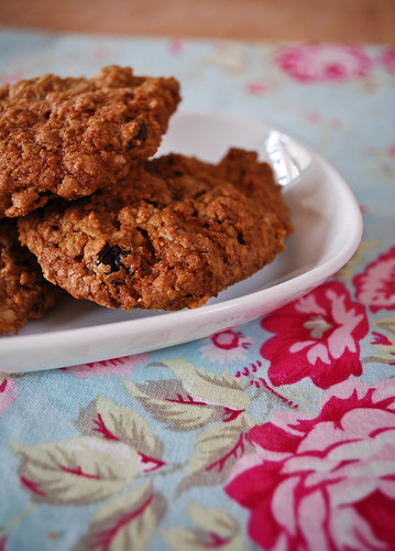 april :: {foggy day} oatmeal cookie recipe