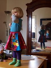 twirly twirl (joontoons) Tags: sewing parkslope skirt patchwork applique florafauna handmadeclothing twirlyskirt annamariahorner chocolatelollipop swingingskirt sewingforgirls erinmcmorris pattyyoung