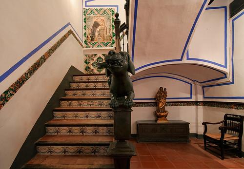casa luis guarner benifairo de les valls valencia escalera interior