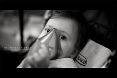 Brothers in Arms (Franck Tourneret) Tags: male 50mm nikon child nb treat breathe aerosol sick enfant malade garon respirer mdicament arosol d700 soigner