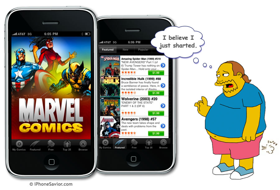 Free Marvel Comics App