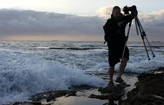 Runner (pominoz) Tags: sea rocks waves photographer nsw centralcoast soldiersbeach