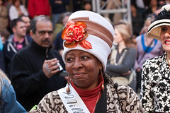 Easter Parade and Easter Bonnet Festival (FreeVerse Photography) Tags: nyc newyorkcity easter manhattan hats stpatrickscathedral 5thavenue parade chapeaux gothamist bonnets milliners