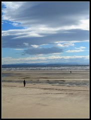 Another (Gormley) Place. (konstantynowicz) Tags: sky cloud beach clouds liverpool river coast seaside sand shore canon350d gormley crosby merseyside anotherplace mygearandmepremium mygearandmebronze 4timesasnice
