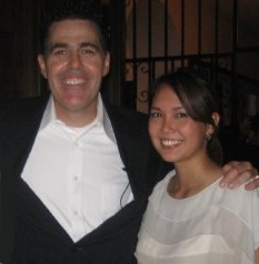 Adam Carolla and Virginia Nussey