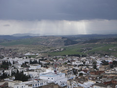 rain in the distance, Le Kef (h_savill) Tags: mountain holiday rock rural buildings march town village view northafrica tunisia military hill hillside tunisie 2010 kasbah lekef exploreworldwide