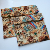 ~honor~ adventure <br> set of 2 reusable snack bags NYLON lining