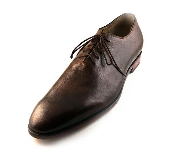 Figura 01 Shoes43_Minimal Oxford in Brown Museum Calf