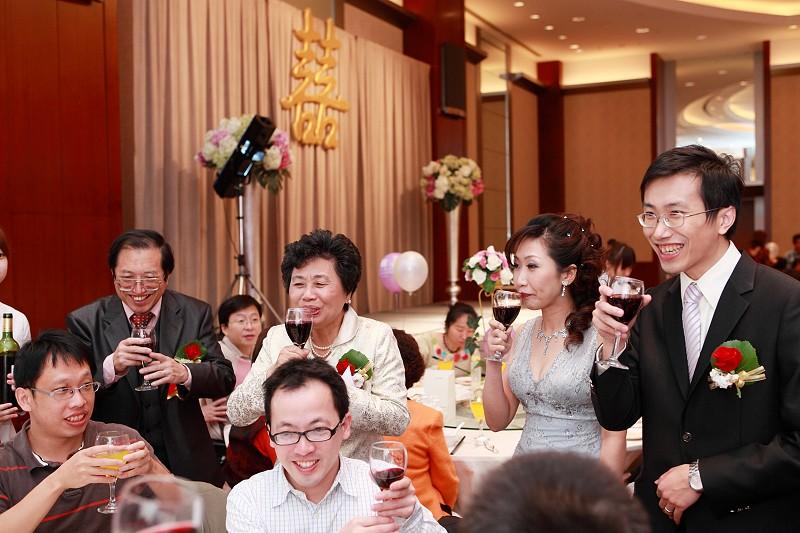 泰育、怡圻結婚記錄