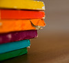 rainbowk (ion-bogdan dumitrescu) Tags: blue red orange color colour green yellow book colorful purple violet books stack cover spine colourful bitzi img3836 ibdp ibdpro wwwibdpro ionbogdandumitrescuphotography