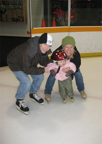 The family, on ice