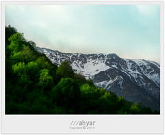 Green Mountainous (///ahyar) Tags: color green nature colors canon landscape photography landscapes village iran  natures gorgan  golestan mountainous    mahyar ziarat seyfi