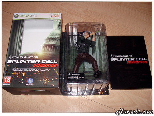 Splinter Cell Conviction - Edition Collector Limitée - 02