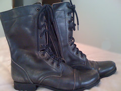 Steve Madden boots - true 100% customer service