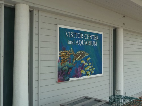 visitor center.