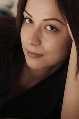 sparks (wunderskatz) Tags: portrait woman cute girl beautiful face look eyes cutie sparks