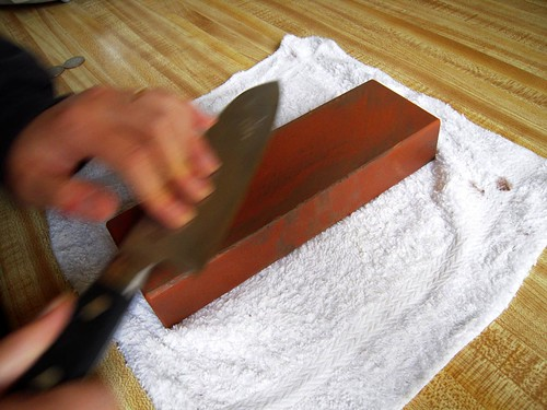 hōchō sharpening