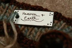"""Heaven and Earth"" Scarf (The Geek Goddess) Tags: wool handmade scarves heavenandearth"
