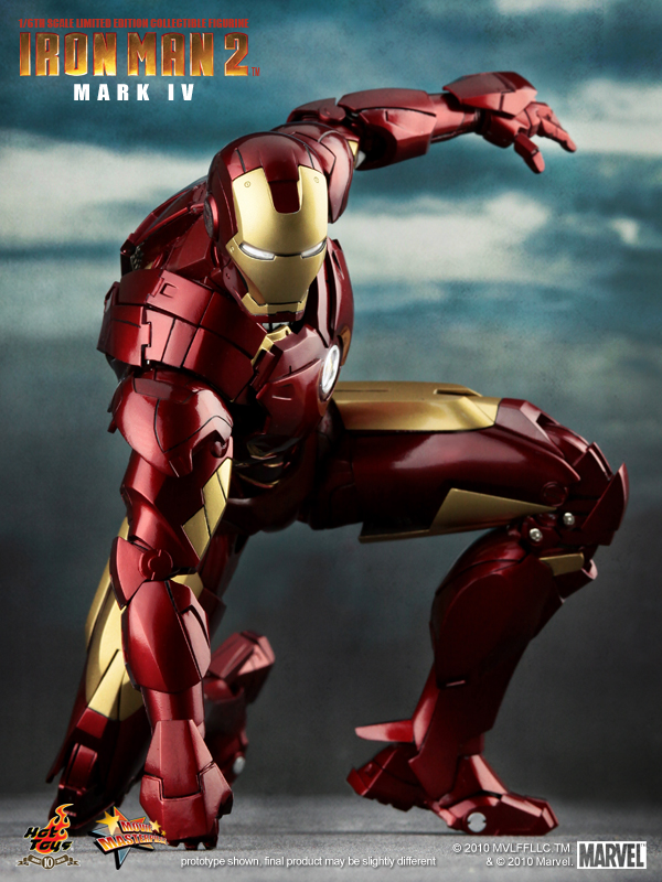 Iron Man 2 Mark IV figura juguete
