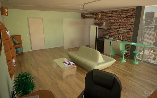 3D model of flat of my dreams. View 2