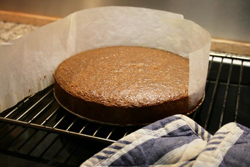 orange-honey buckwheat cake