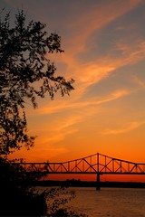 Sunset in Louisville (ScottElliottSmithson) Tags: sunset night canon scott eos cloudy kentucky louisville ohioriver smithson thunderoverlouisville louisvillekentucky cloudynight louisvillethunder eos7d regionwide thunder10 dtwpuck scottsmithson scottelliottsmithson
