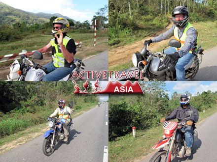 The Great Red Spider Vietnam Motorcycle Tour with ACTIVETRAVEL  ASIA