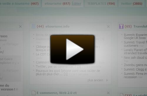 Vidéo de démonstration Netvibes