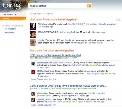 Bing & #nickcleggsfault