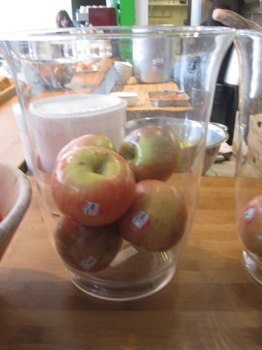 free apple from the bistro