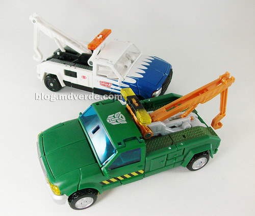 Transformers Hoist RotF Deluxe vs Longarm - modo alterno