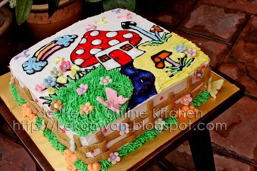 Cake Mushroom Cottage