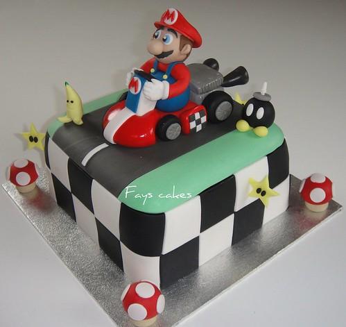 1st Super Mario Cake