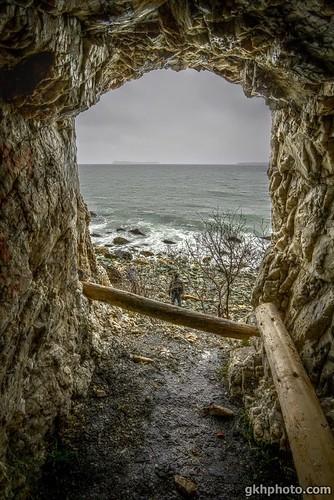"""Topsail Beach """"Cave"""" (HDR)"""