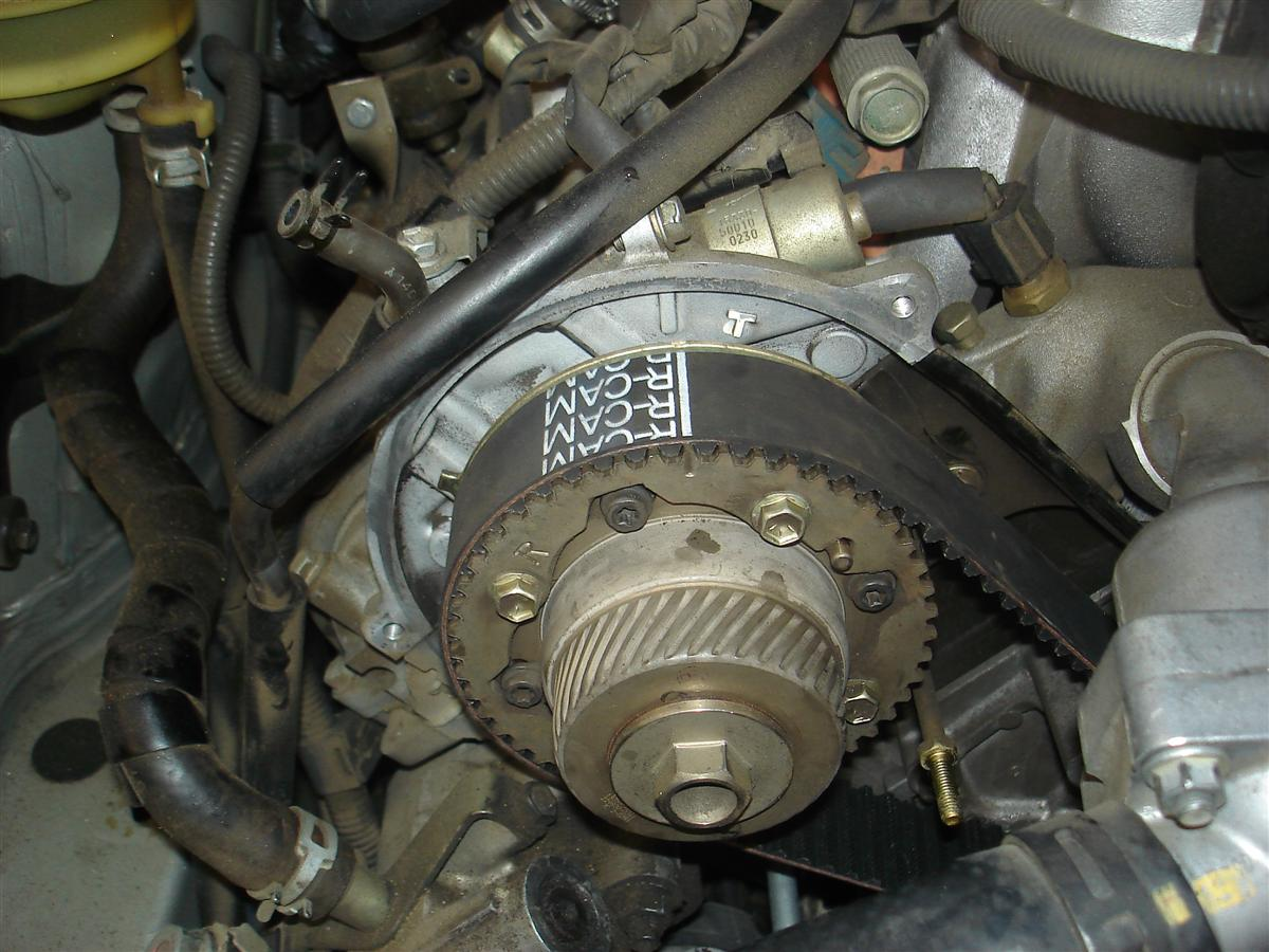 Sc430 Timing Belt Installation Notes Clublexus Lexus Forum 1uz Wiring Diagram Bottom Of The New Notice Has Cr Marked On It And This Aligns With Dot Crank Pulley Note There Are Two Marks
