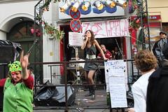 Myfest 2010 -  ZOE.LEELA auf der Bühne vor dem...