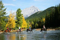 """River Crossing at Warner Guiding and Outfitting (Ranchseeker (www.ranchseeker.com)) Tags: other hiking alberta banff """"flyfishing"""" """"cowboycookouts"""" """"horsebackriding"""" """"naturetrails"""" """"overnighthorsetrips"""" """"packtrips"""" """"saddleyourownhorse"""" """"wildernesssetting"""" """"mountainsetting"""" """"photographytrips"""" """"wildlifeviewing"""" """"crosscountryskiing"""" """"sleighrides"""" """"snowshoeing"""""""