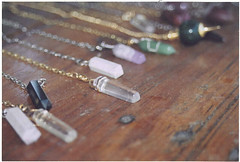 (amnda adam) Tags: wood canon rebel crystals market bokeh flea sell quartz necklaces eosg