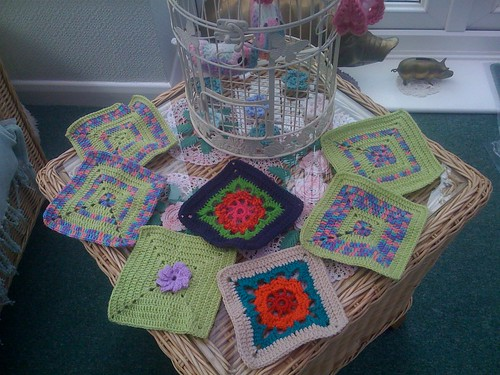 Lili 4g from France sent me these Squares. They arrived this morning! Thanks so much they are gorgeous!