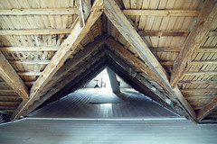 4 (heddar) Tags: house home floor interior ceiling woodenfloor beams trusses rafters paintedfloor