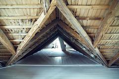 4 (heddar) Tags: house home floor interior ceiling woodenfloor beams trusses rafters paintedfloor