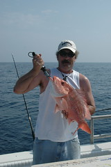 Me with American Red Snapper (duane.schoon) Tags: gulfofmexico fishing florida snapper grouper deepwater charterboat bradentonbeachflorida duanesphotos americanredsnapper