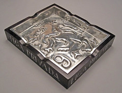 Liga Privada Pewter Ashtray 3