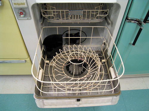 Automatic Hotpoint Dishwasher Rack 1950's