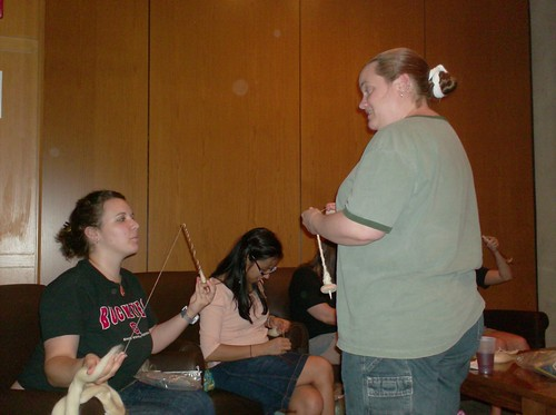 Abbysyarns Abby answers student spinners' questions about spinning yarn on drop spindles
