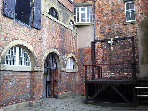 Gallows at Galleries of Justice Nottingham