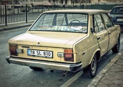 Tofa ahin / Murat 131 (Ozan) Tags: auto car automobile fiat hdr araba lightroom automvil automobil ozan  mirafiori 3xp photomatix otomobil ahin tofa murat131 ozandanman fiat131 ozandanisman kuserisi