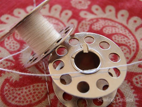 Close Up - Bobbins, Pins & Things